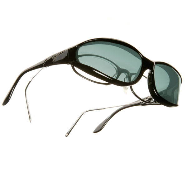 maxiaids vistana sunglasses small black frame gray lens